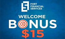Welcome Bonus 15 USD FortFS